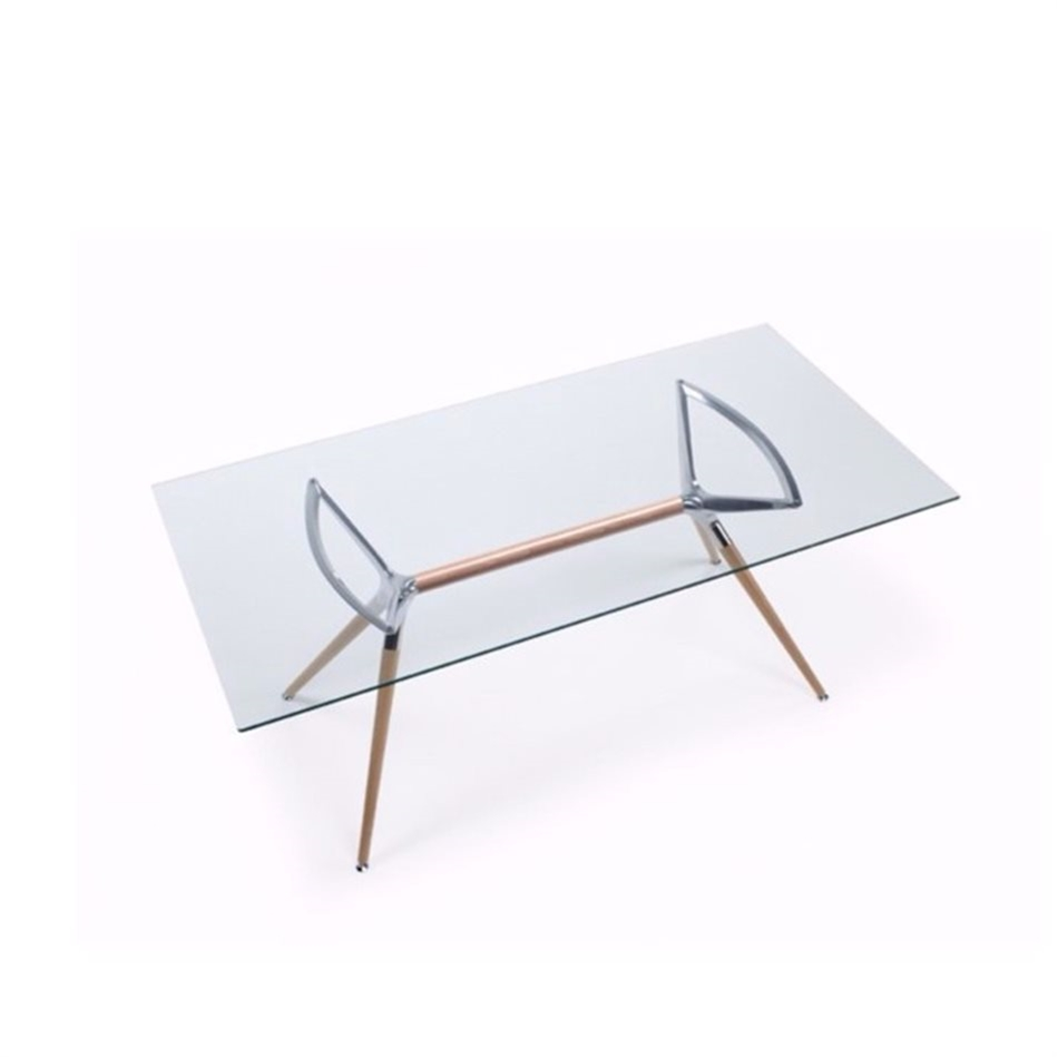 Metropolis Glass Table | Chair Compare